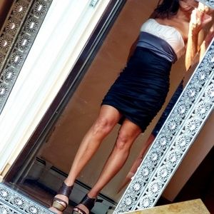 Dresses & Skirts - . Strapless ruched Dress Sz.Xs-S